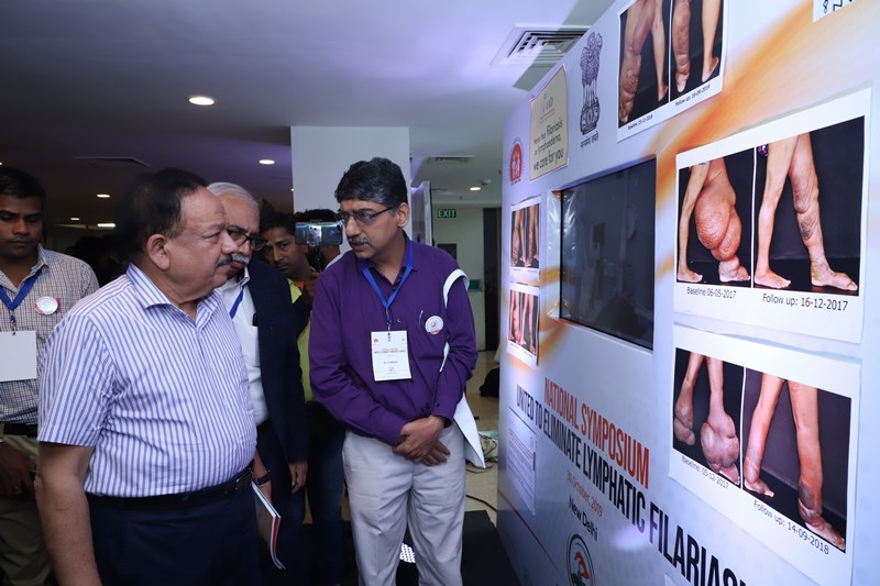 National Sysmposium United to Elimination Lymphatic Filariasis, 30 Oct 2019, New Delhi