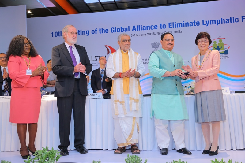 10th Meeting of the Global Alliance to Eliminate Lymphatic Filariasis 13-15 June 2018, New Delhi