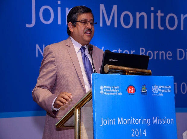 Joint Monitoring Mission (JMM) briefing\r\non 1st March 2014 & Debriefing on 10th March 2014 at Hotel Oberoi, New Delhi