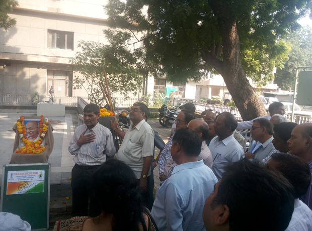 Swachh Bharat Mission - 2nd October 2014\r\nat NVBDCP, 22-Sham Nath Marg, Delhi-110054.