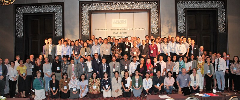 Joint APMEN working groups and partners coordination  meeting 6Sep2018 at Bangkok
