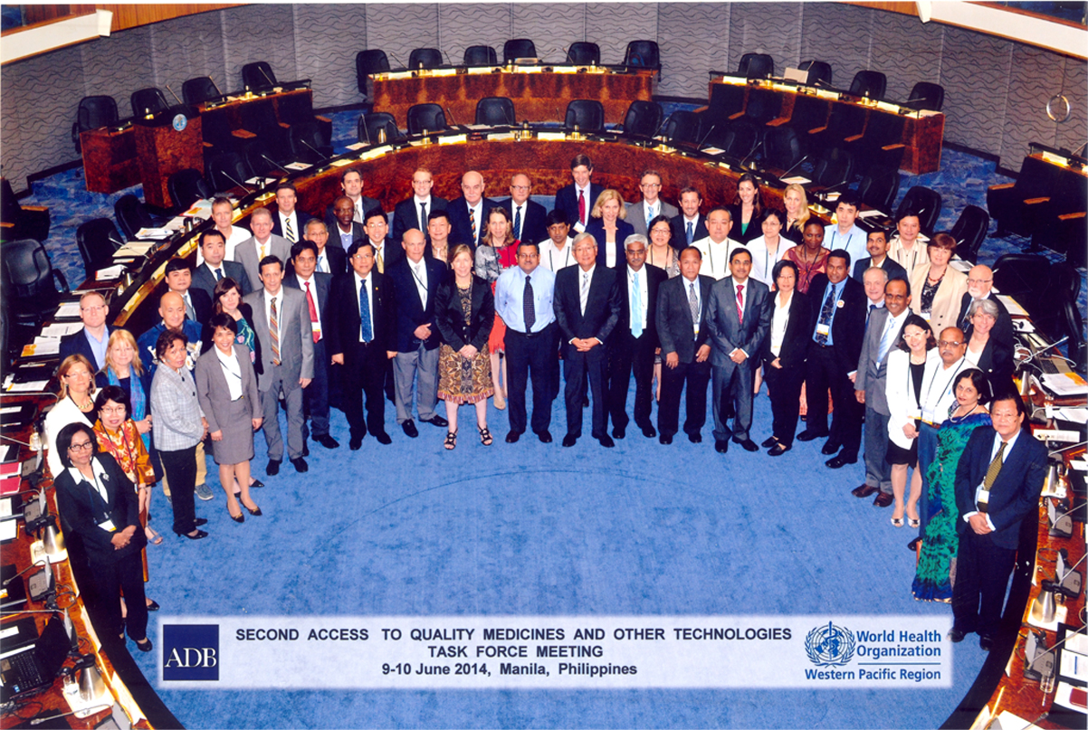 Second Access to Quality Medicines and Other Technologies \r\nTASK FORCE MEETING —9-10 June 2014, Manila, Phillippines