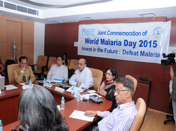 Joint Commemoration of World Malaria Day 2015 - Invest in th Future : Defeat Malaria\r\n1st May 2015 at NIMR Conference Hall, Dwarka