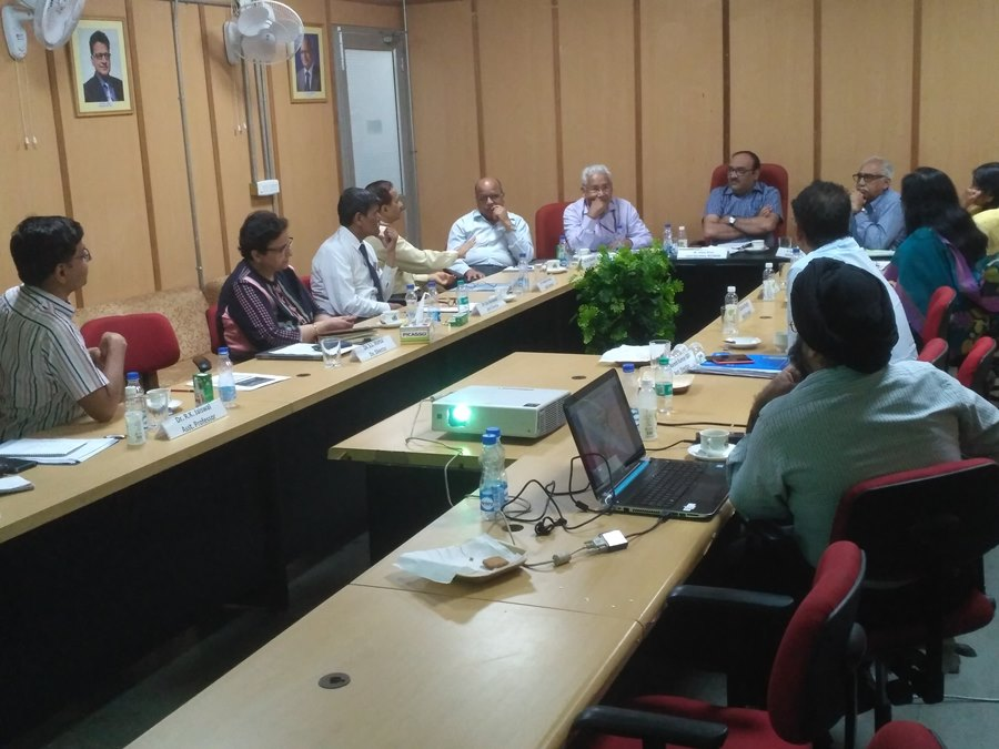 Joint Secretary review meeting on 18th April 2018 at Dte.NVBDCP, DMRC Building, Shastri Park